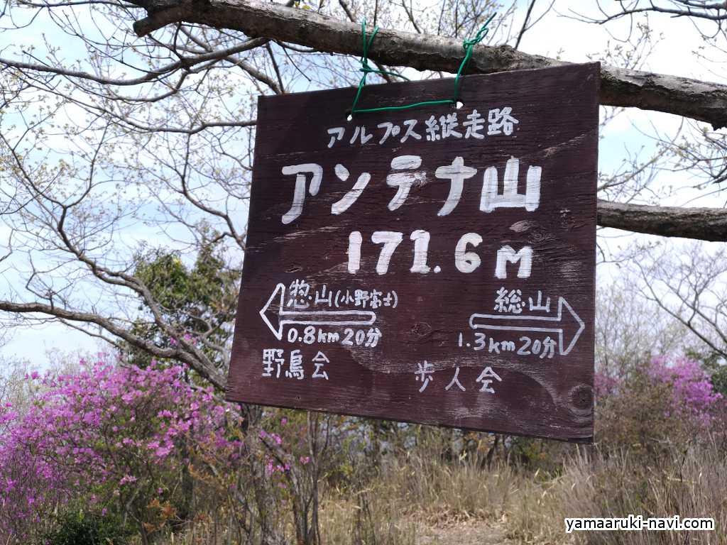 小野アルプス アンテナ山