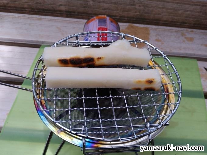 調理中の焼餅