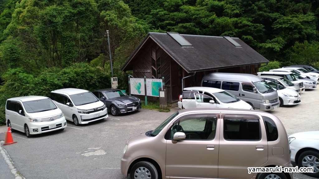 金剛山 駐車場