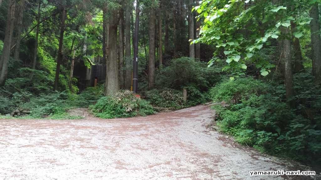 金剛山 カトラ谷コース