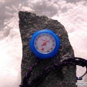 涸沢カールでの7月の気温
