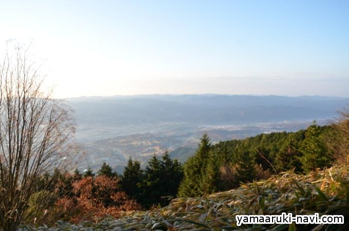中葛城山からの眺望