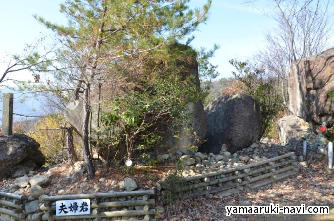 夫婦岩(めおといわ)