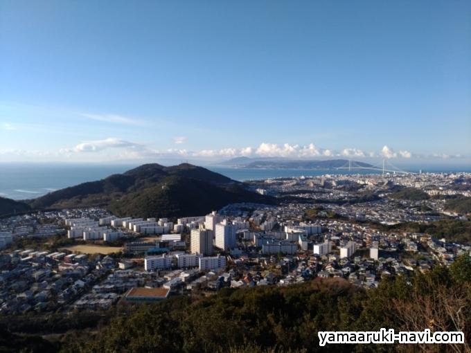 栂尾山山頂からの景色