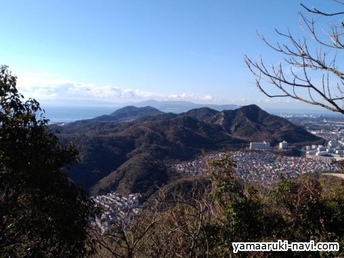 荒熊神社からの景色