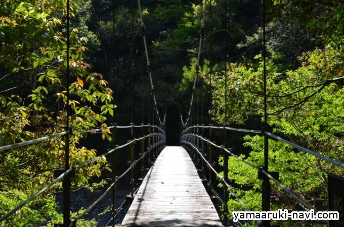 大杉谷 能谷吊橋