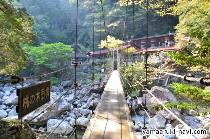 桃の木吊橋