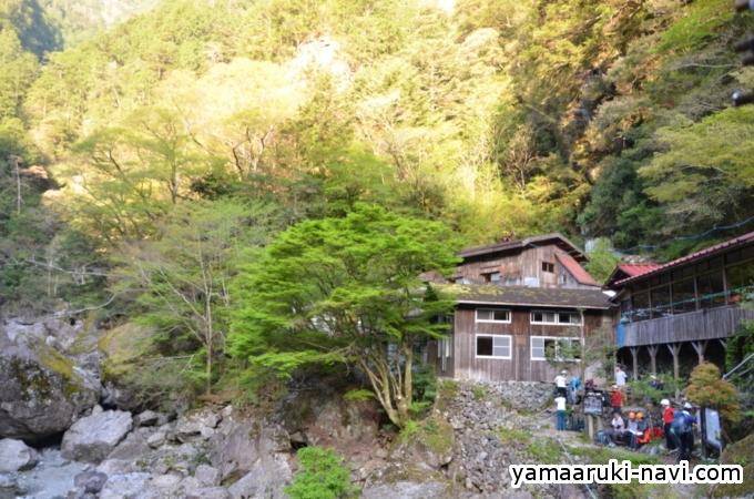大杉谷 桃の木山の家
