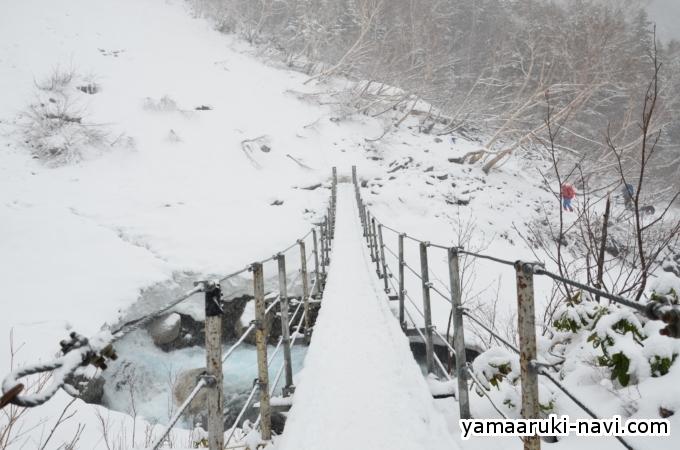上高地 GWの本谷橋