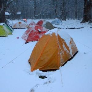 5月のGWに徳澤園でテント泊したときの装備