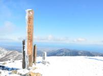 武奈ケ岳の山頂