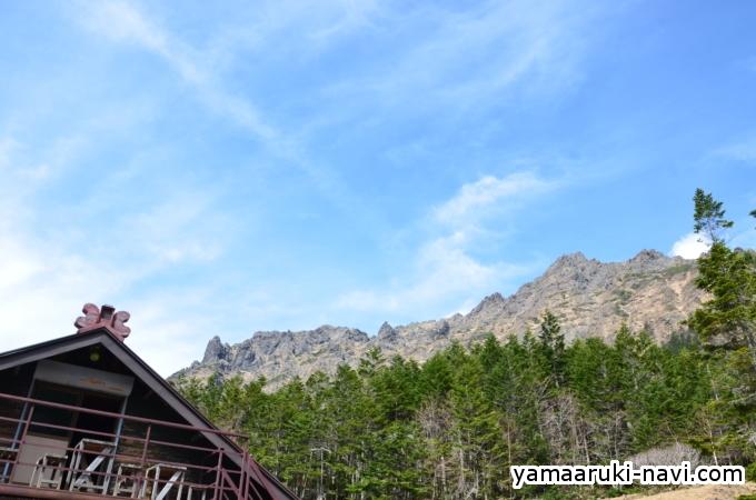 南八ヶ岳 行者小屋からの横岳