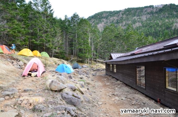 南八ヶ岳 赤岳鉱泉