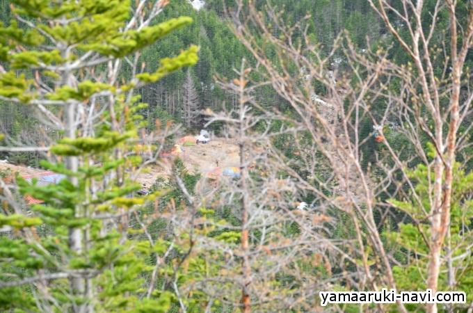 南八ヶ岳 中山展望台からの景色