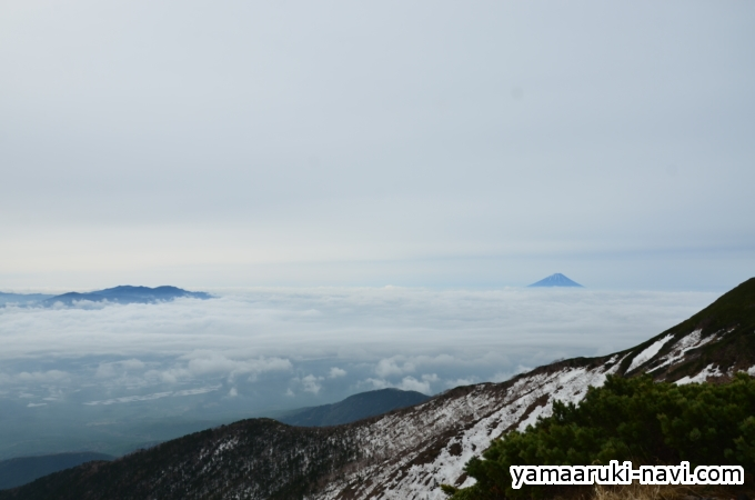 台座ノ頭からの景色