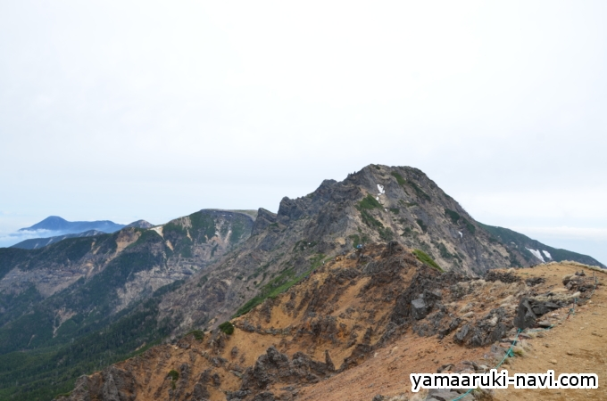 赤岳展望荘からの景色