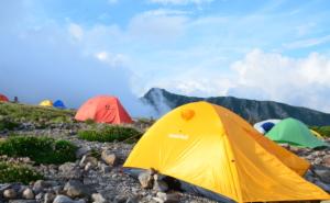五色ヶ原 キャンプ場