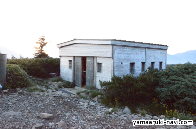 五色ヶ原山荘
