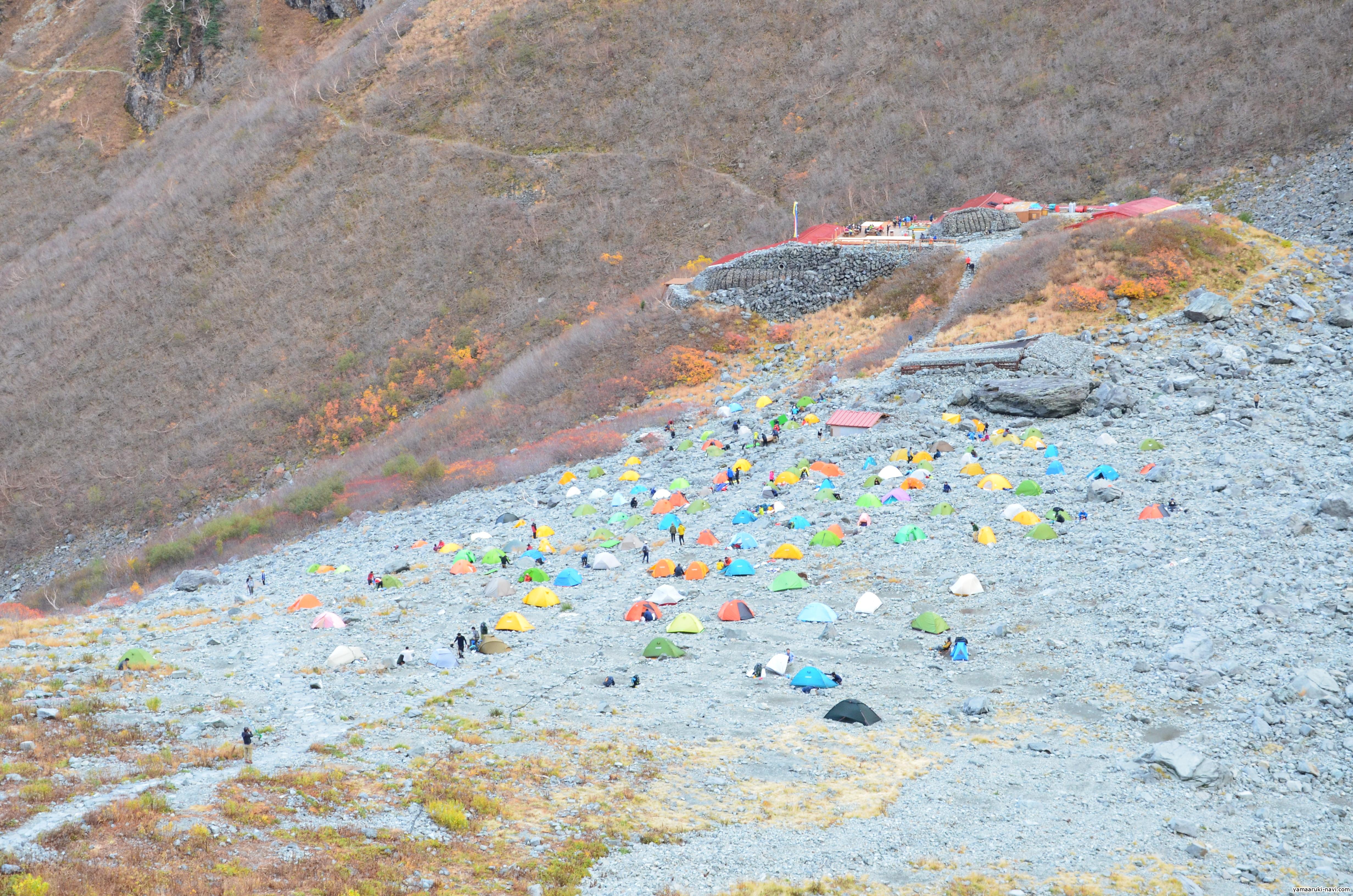 涸沢キャンプ場