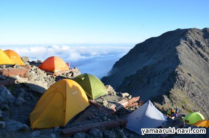 槍ヶ岳キャンプ場