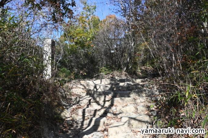中山寺 六丁石