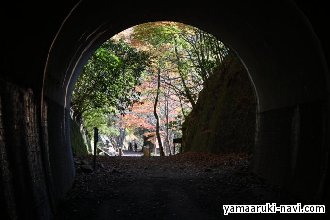 2つ目のトンネル「長尾山第2トンネル」147m