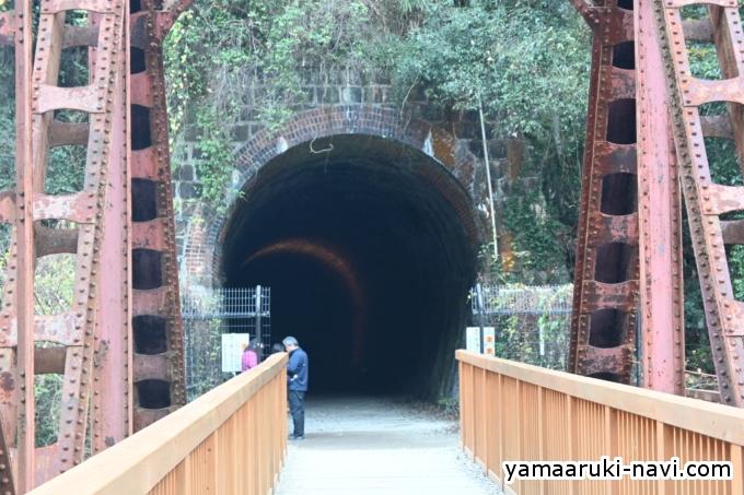 4つ目のトンネル「清滝尾トンネル」149m