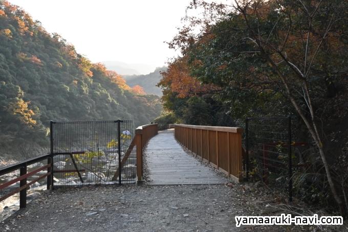 2つ目の橋梁「姥ヶ懐川橋梁」