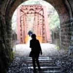 溝滝尾トンネルと第2武庫川橋梁