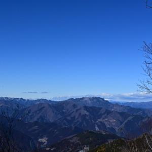 霧藻ヶ峰休憩所からの眺望