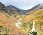 奥穂高岳 10月の紅葉が綺麗な涸沢カールにテント泊してきました。(1日目)
