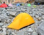 10月の涸沢でテント泊の装備一式